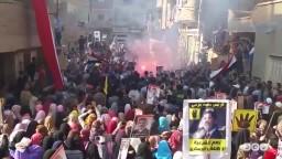 مسيرة حاشدة بقرية العدوة -جمعة رفض التفويض