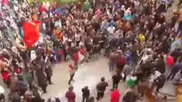 الجامعة الألمانية تنتفض ضد مجازر الانقلاب