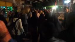 مسيرة أبوسليمان ضد الانقلاب الدموي
