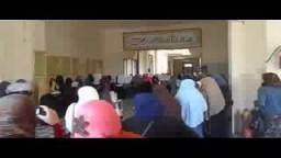 طالبات ضد الانقلاب بكلية الدراسات بدمنهور