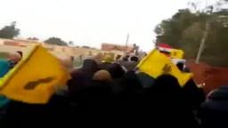 مسيرة ثوار فايد_ الإرهاب صناعة الانقلاب