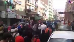 حشود الثوار في جمعة الإرهاب صناعة الانقلاب