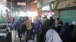 مسيرة ليليه لأهالي شبرا الخيمة 23/2/2015