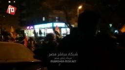 احرار مدينة نصر يهتفون ضد حكم العسكر