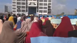 مسيرة طلاب جامعة دمنهور بعنوان اعلام كداب
