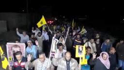 بلطيم  مسيرة ليلية  ضد اجرام العسكر