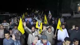 مسيرة بلطيم الثائرة ضد حكم السيسي وجرائمه