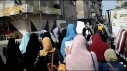مسيرة لـ حركة طلاب ضد الإنقلاب