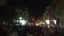 مسيرة ببنى سويف تهتف للميمون المحاصرة