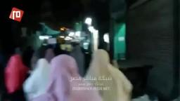 مسيرة ليلية ببني سويف تهتف ضد حصار الميمون