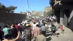 حشود ثوار ابو زعبل الجمعة 6 -3 - 2015