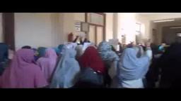 طالبات كلية الدراسات الاسلامية بدمنهور