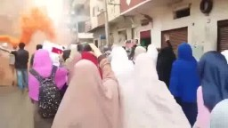 أحرار أسيوط  تنديدا بإعدام محمود رمضان