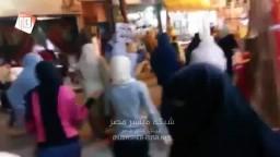 مسيرة ليلية بمدينة بني سويف ترفض بيع مصر