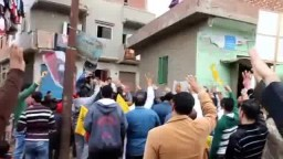 مسيرة كفر السودان للتنديد بمؤتمر بيع مصر