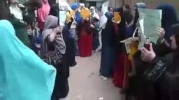 ثورة ثورة حتى النصر نساء بنها ضد الانقلاب