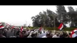 مسيرة حاشدة لثوار اشمون _الجمعة 20 / 3 / 2015