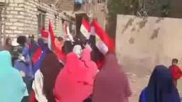 مسيرة زاوية النجار بقليوب_الثورة مع الغلابة
