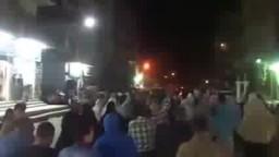 تظاهرة حاشدة وثبات أسطوري لثوار بنى سويف