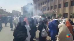 تظاهرة لطالبات الأزهر - الأربعاء ٢٥ مارس