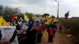 مسيرة حاشدة لاحرار دسوق .. الثورة لن تركع