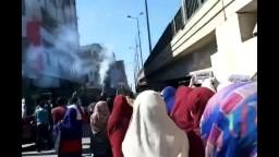 مسيرة حاشدة لطلاب ضد الانقلاب - أسيوط
