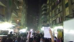 مسيرة حاشدة  لثوارعزبة النخل..الثورة لن تركع
