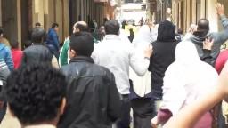 المنتزة - مسيرة حاشدة تندد بالاعدامات