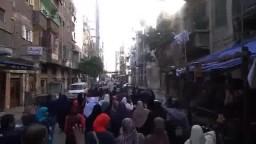 مسيرة الورديان للمطالبة بوقف احكام الاعدام