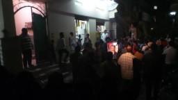 مسيرة ابوكبــير لرفض الحكم على الرئيس