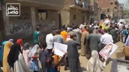 مسيرة بالشويك تنديدا بجرائم الانقلابيين