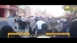 ثوار الهرم فى مسيرة حاشدة - الثورة اقوى