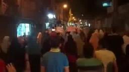 بنى سويف تندد بإعتقال الفتيات من 115 يوم