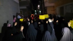 مظاهرة ليلية رفضًا للانقلاب بأبوكبير