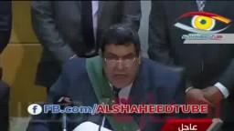 لحظة الحكم بالإعدام على الرئيس مرسي