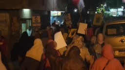 ثوار المعادي يحتشدون ضد ظلم قضاة مصر