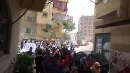 مسيرة بمنطقة الحضرة الجديدة .. الجمعة 22-5-2015