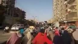 مسيرة ببنى سويف تهتف  القصاص القصاص