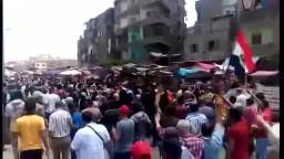 حشود ثوار المطرية الجمعة 29 / 5 / 2015