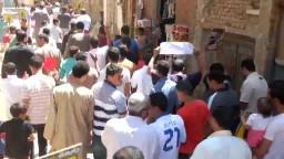 مسيرة بقرية الأعلام بالفيوم ضد حكم العسكر