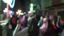 ثوار العصافرة فى مسيرة تأييدا للرئيس مرسى