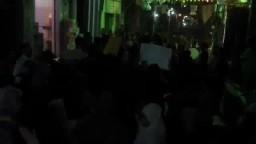 مسيرة حاشدة استعدادا لانتفاضة 30_6 -بنى حدير