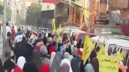 تظاهرات ضد الانقلاب بالقاهرة والمحافظات