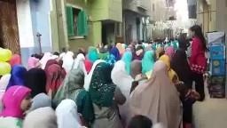 مسيرة حاشدة لثوار أشمنت فى أول ايام العيد
