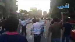 هتاف 'يسقط حكم السيسي' يزلزل شوارع المهندسين