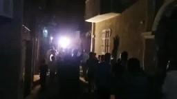 مسيرة ليلية بأشمنت للتنديد بجرائم الانقلاب