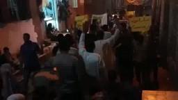 مسيرة أشمنت .. الثورة تلبى مطالب الجماهير