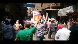 مسيرة امبابة التي انطلقت عقب صلاة الجمعة 4_9