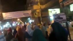 مسيرة ببنى سويف ضد الانقلاب اقتحام الاقصي