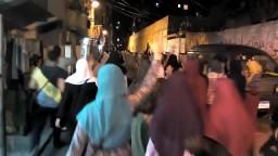 مسيرة  ثوار الرمل فى ليلة عيد الأضحي